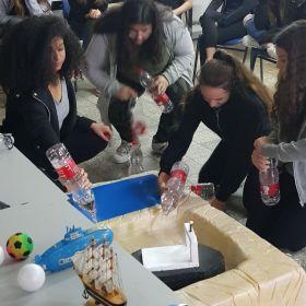 טקס סיום לימודי פנים למדע לנערות חטיבת הביניים חצב, אלפי מנשה 17 באפריל 2018