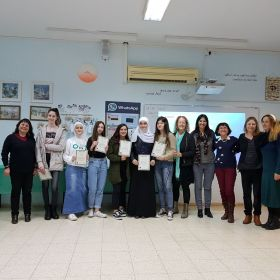 פורום מדע וטכנולוגיה מצעיד את נערות כיתות ט לקראת בחירתן בלימודי מדעים ינואר-פברואר 2018