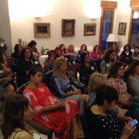 מפגש חודשי עם איריס אלייקים אוקטובר 2014