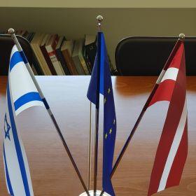 """שגרירות לטביה - פגישה עם השגרירה גב' אטילה גבלה,ת""""א 5.11.18"""
